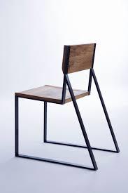 k1 chair wood steel woods and steel