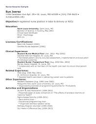 Sample Resume Objectives Psychology by Registered Nurse Resume Objective Statement Examples Resume For