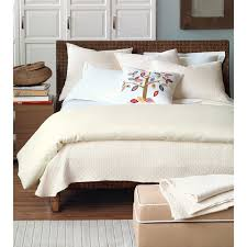 Eastern Accents Bed Eastern Accents Bedding White And Blue Stripe Pattern Comforter
