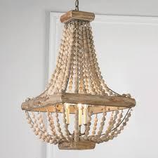 wooden beaded chandelier beaded editonline us