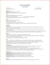 Best Resume Format For Undergraduate Students by Valuable Inspiration Resume For College Freshmen 14 Examples