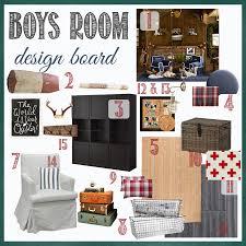 boy u0027s room design board u2013the plan for gray u0027s room perfectly