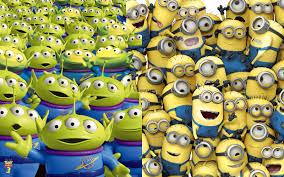 Toy Story Aliens Meme - toy story s aliens despicable me s minions armigatus