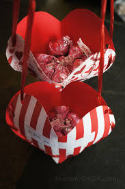 Valentine Decorations For A Party by Valentine U0027s Day Treat Pockets A Fun Homemade Valentines Craft For