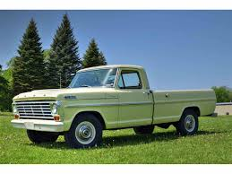 Ford F250 Truck Camper - 1967 to 1969 ford f250 for sale on classiccars com 7 available