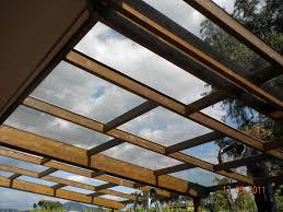 tettoie in legno e vetro coperture in legno mcr stand srl
