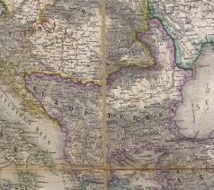 Ottoman Europe by The Balkans Historical Maps Perry Castañeda Map Collection Ut