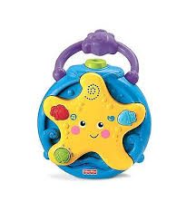 baby soother night light show crib music toy ocean sound projector