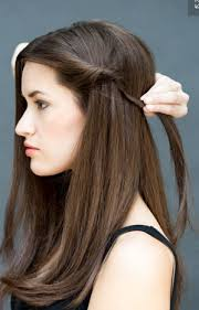 tutorial menata rambut panjang simple tutorial rambut cantik dan sederhana dalam waktu 10 detik model