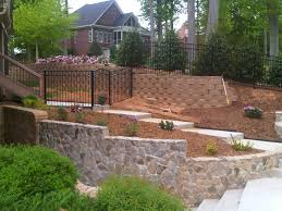 Steep Sloped Backyard Ideas by Fence On Steep Hill 2 Jpg 1 792 1 344 Pixels Fence Ideas