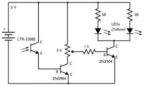 a dark detecting circuit for your jack o u0027 lantern evil mad