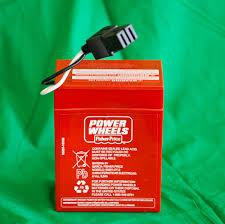 new power wheels super 6 volt red battery 6v 00801 0712 ebay