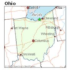 avon ohio map best places to live in avon ohio