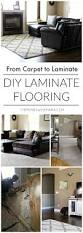 Laying Carpet On Laminate Flooring Diy Select Surfaces Laminate Flooring Our Big Reveal The