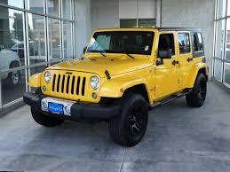 yellow jeep wrangler unlimited jeep wrangler unlimited in oregon used jeep wrangler unlimited