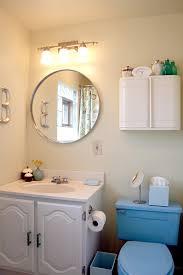 Blue Bathroom Fixtures Blue Bathroom Finished It Lovely