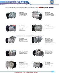 nissan frontier ac compressor china supply 24v 1pk auto ac air compressors for nissan civilian