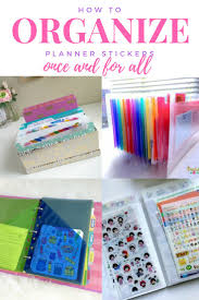 best 25 sticker storage ideas on pinterest scrapbook