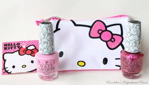 munchkin u0027s magnificent manis hello hello kitty opi review