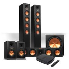 home theater system with wireless surround speakers amazon com klipsch reference premiere hd wireless 5 1