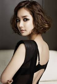 short hairstyles easy short korean curly hairstyles latest hair