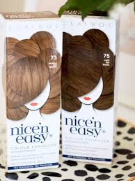 nicen easy color chart at home hair refresh in just 7 minutes with clairol nice n easy