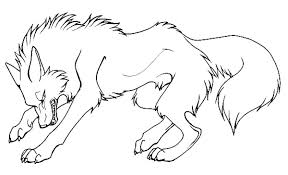 Anime Wolf Pack Coloring Pages Angry Cartoon To Print Best Wolf Pack Coloring Pages