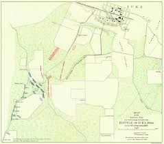 Zip Code Map Memphis by Civil War Map Iuka Battle In Mississippi 1862