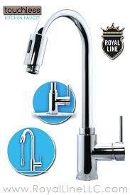no touch kitchen faucet touch activated kitchen faucet kohler delta touchless installation