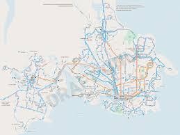 Vancouver Skytrain Map Words Owen Lett