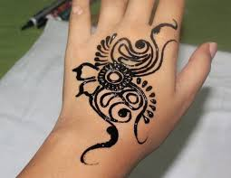 coloured henna 8 steps