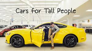 sofa for tall person cars for tall people youtube