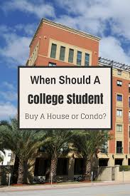 should a college student or recent grad buy a house