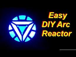 Iron Man Light Up Shirt Diy Cheap And Easy Iron Man Arc Reactor That Really Glows Youtube