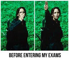 Hunger Games Meme - exams feel like the hunger games memes grade calculator