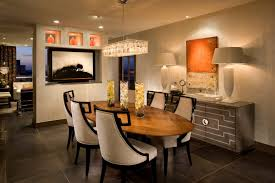 Modern Dining Room Colors Modern Rectangular Chandelier For Warm Dining Room Color
