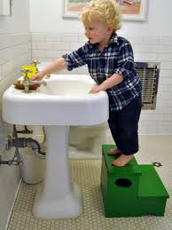 Bathroom Stool Storage Woodworking Project How To Build A Storage Step Stool For Kids Diy