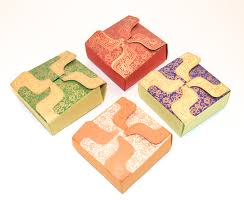 Indian Wedding Gift Set Of 4 Small Gift Boxes Wedding Gift Box By Penandfavor On Zibbet
