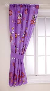 Purple Nursery Curtains by Amazon Com Disney Minnie Fluttery Friends Window Panel And