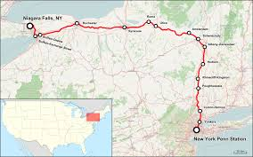 Amtrak Map Schedule by Empire Service Train Wikipedia