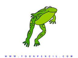 jumping frogs clipart 34