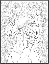 De Stress With Dogs Downloadable 10 Page Coloring Book For Adults Coloring Book Page