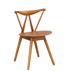 Modern Wood Chair Furniture Triangle Chair Brickell Collection Modern Furniture