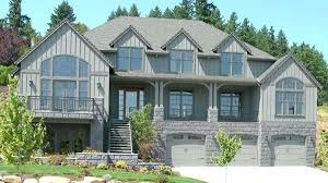 front sloping lot house plans house plans for sloping lots exciting pmok me