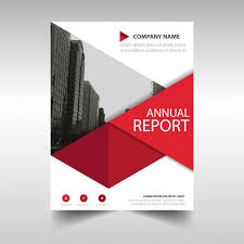 annual report template word report cover design templates geometric annual report template