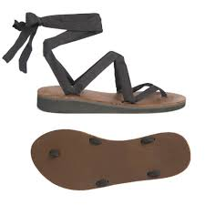 leather ribbon brown leather ribbon sandals sseko designs