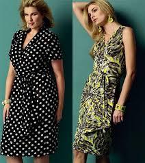 plus size wrap dress pattern free evening wear