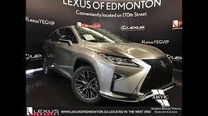 lexus rx hybrid fuel economy 2017 atomic silver lexus rx 450h awd hybrid f sport series 3