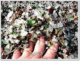 beach of glass what is sea glass