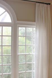 interior traditional fabric loose curtain combined with yellow